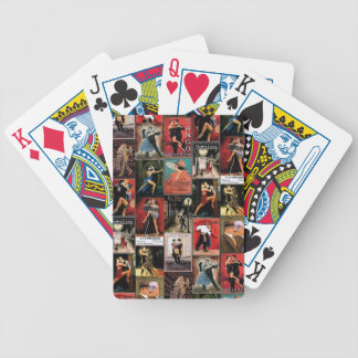 Argentine tango bicycle playing cards