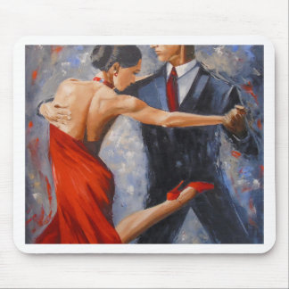Argentine tango mouse pad
