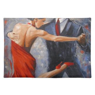Argentine tango place mats