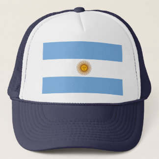 Argentinean Flag Trucker Hat