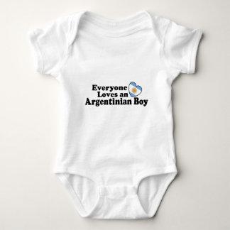Argentinian Boy Baby Bodysuit