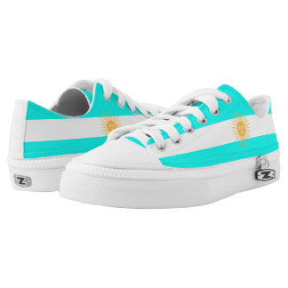 Argentinian flag Low-Top sneakers