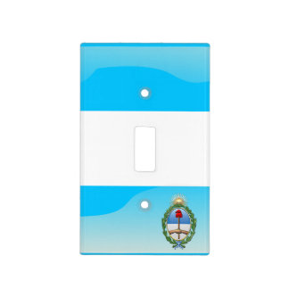 Argentinian glossy flag light switch cover