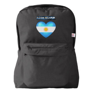 Argentinian heart backpack