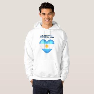 Argentinian heart hoodie