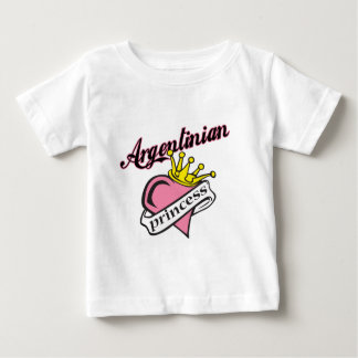 Argentinian Princess Baby T-Shirt