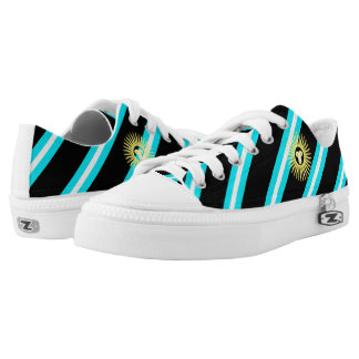 Argentinian stripes flag Low-Top sneakers