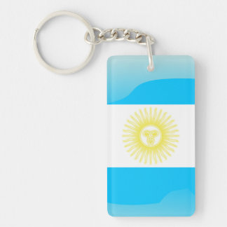 Argentinian Sun of May Keychain