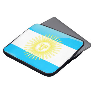 Argentinian Sun of May Laptop Sleeve