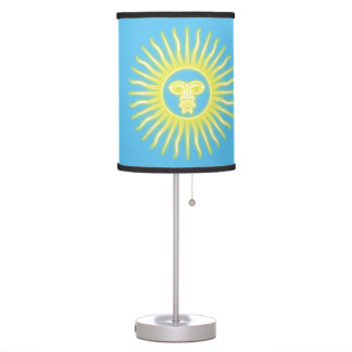 Argentinian Sun of May Table Lamp