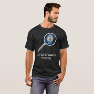 Argentinian touch fingerprint flag T-Shirt