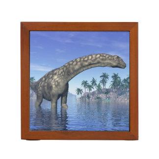 Argentinosaurus dinosaur - 3D render Desk Organizer