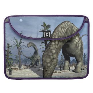 Argentinosaurus dinosaur drinking sleeve for MacBook pro