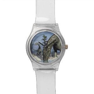 Argentinosaurus dinosaur drinking watch