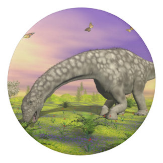 Argentinosaurus dinosaur eating - 3D render Eraser