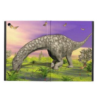 Argentinosaurus dinosaur eating - 3D render iPad Air Cover