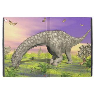"Argentinosaurus dinosaur eating - 3D render iPad Pro 12.9"" Case"