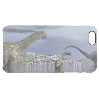 Argentinosaurus dinosaur family clear iPhone 6 plus case