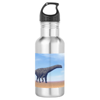 Argentinosaurus dinosaur in the desert - 3D render 532 Ml Water Bottle