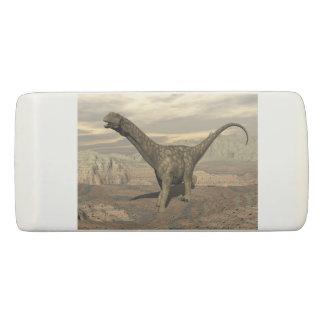 Argentinosaurus dinosaur walk - 3D render Eraser