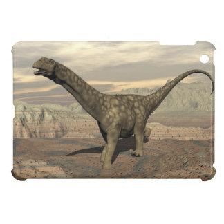 Argentinosaurus dinosaur walk - 3D render iPad Mini Case