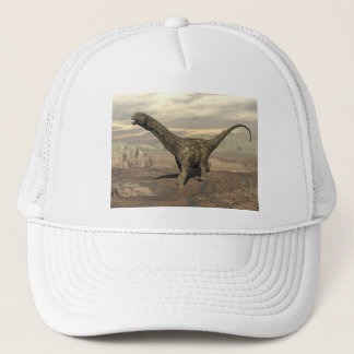 Argentinosaurus dinosaur walk - 3D render Trucker Hat