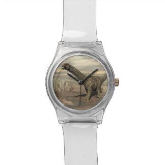 Argentinosaurus dinosaur walk - 3D render Watch
