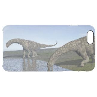 Argentinosaurus dinosaurs - 3D render Clear iPhone 6 Plus Case