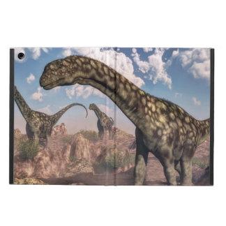 Argentinosaurus dinosaurs - 3D render iPad Air Cover
