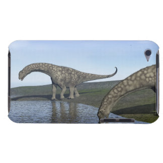 Argentinosaurus dinosaurs - 3D render iPod Touch Case-Mate Case