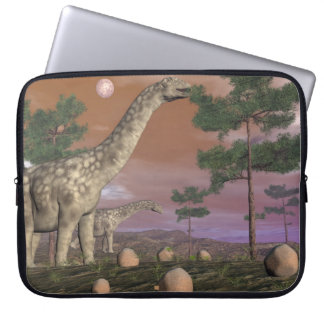 Argentinosaurus dinosaurs - 3D render Laptop Sleeve