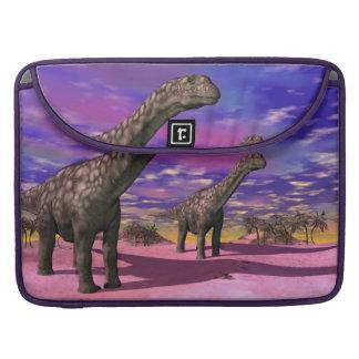 Argentinosaurus dinosaurs - 3D render Sleeve For MacBooks