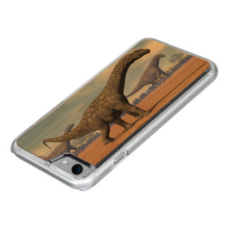 Argentinosaurus dinosaurs walk - 3D render Carved iPhone 8/7 Case
