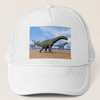 Argentinosaurus dinosaurs walk - 3D render Trucker Hat