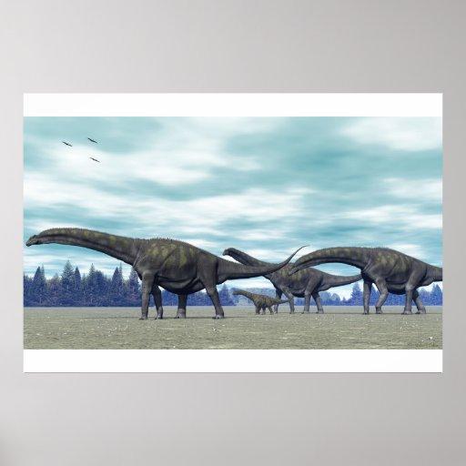 Argentinosaurus Poster