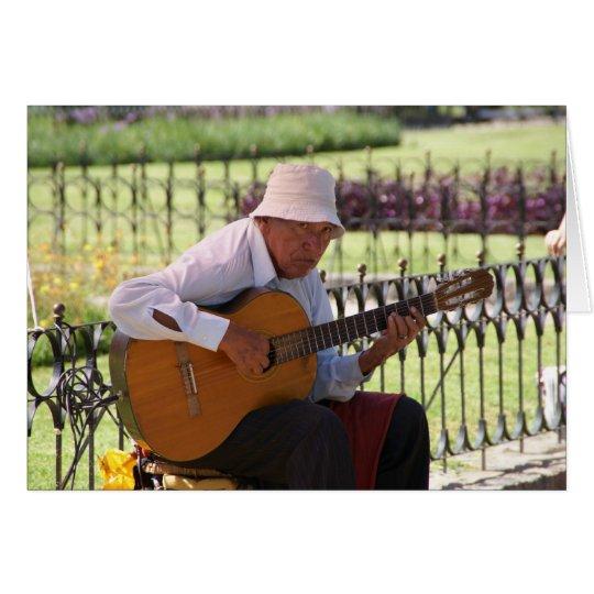 Argentne Guitar Player Card