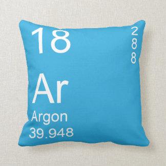 Argon Throw Pillow