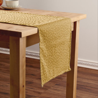 Argos Beige Short Table Runner