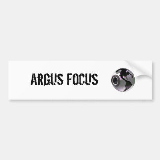 Argus Focus Bumper Sticker