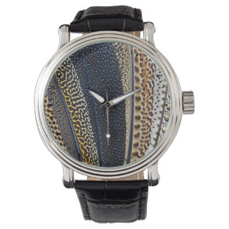 Argus Pheasant wing feathers Watch
