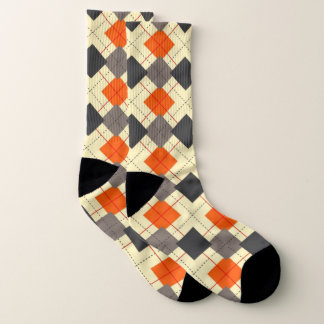 Argyle Barbecue Socks