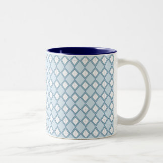 Argyle/Diamond Coffee Mug