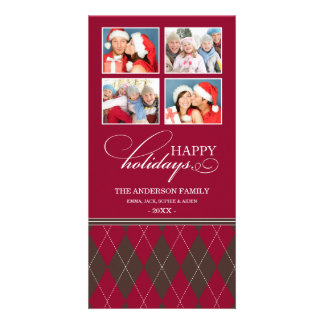 ARGYLE HOLIDAYS  | HOLIDAY PHOTO CARD