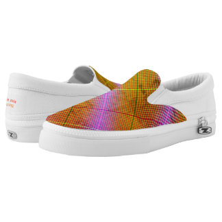 Argyle mix Slip-On sneakers