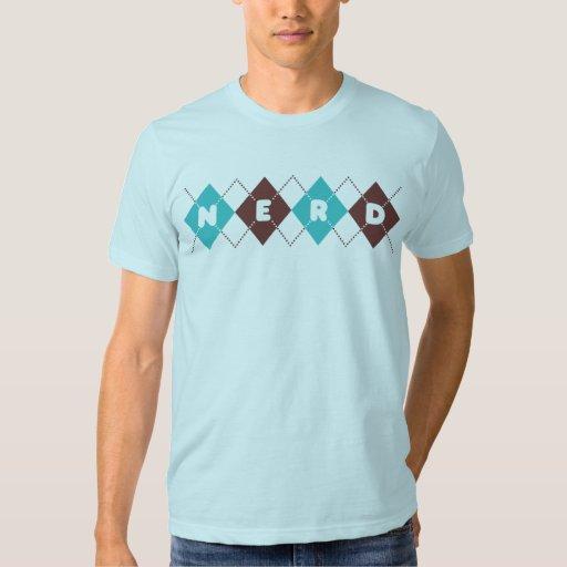 Argyle Nerd Tshirts