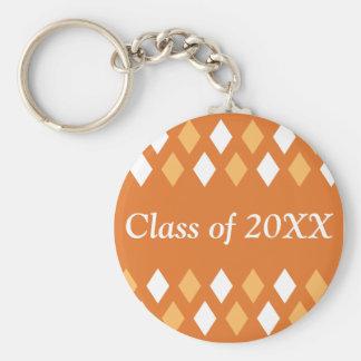 Argyle Personalized Class Of Keychain