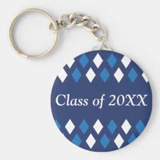 Argyle Personalized Class Of Keychain