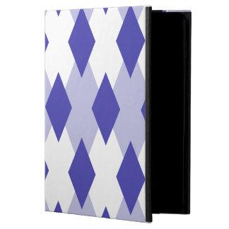 Argyle Plaid Pattern_4A46B0 iPad Air Case