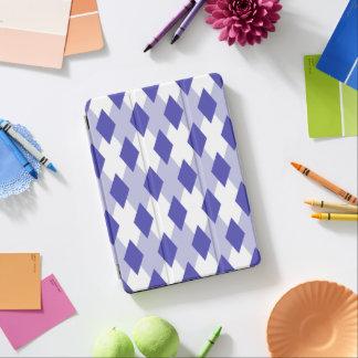 Argyle Plaid Pattern_4A46B0 iPad Air Cover
