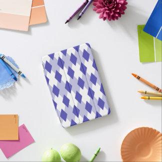 Argyle Plaid Pattern_4A46B0 iPad Mini Cover